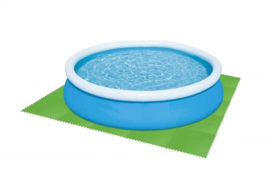 Durable Inflatable Swimming Pool Accessories Polyethylene Floor Protector 32in X 32in