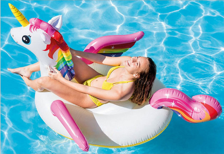 Unicorn Supersize 90kg Swimming Pool Inflatable Toys Water Animals