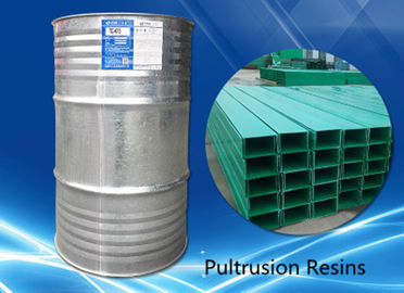 High Mechanical Strength Unsaturated Polyester Resin , Yellow Liquid Pultrusion Resin